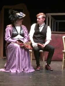 Mrs Ogden Hammond tries to persude William Adams to join the Red Cross